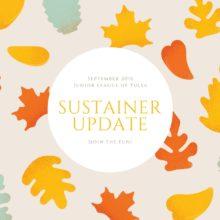 sustainer update
